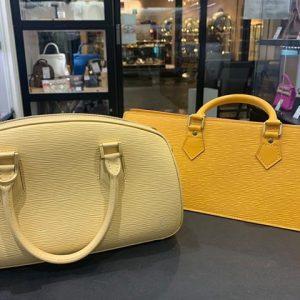 エレガンスさが魅力、ルイ・ヴィトン(LOUIS VUITTON)エピ素材のハンドバッグ